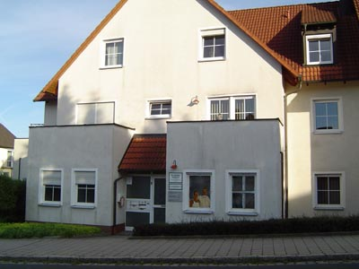 Dieses Bild zeigt das Haus in dem sich die Praxis befindet